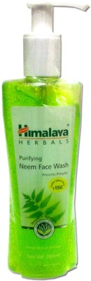 Himalaya Neem Face Wash(200 ml)  available at flipkart for Rs.170