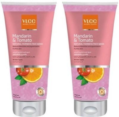 VLCC Mandarin & Tomato( Pack of 2 ) Face Wash(175 ml)