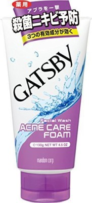 Gatsby Mens Facial Wash Triple Care Acne Form Face Wash(130 g)