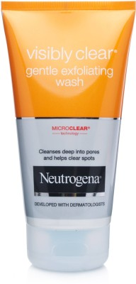Neutrogena Visibly Clear Gentle Exfoliating Face Wash(150 ml)
