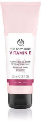 The Body Shop Vitamin E Gentle  Face Wash(125 ml)  available at flipkart for Rs.645