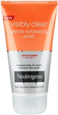 Neutrogena Visibly Clear Gentle Exfoliating Wash Face Wash, 150 ml