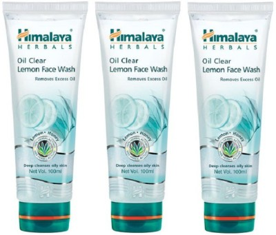 Himalaya Oil Clear Lemon (Set of 3) Face Wash(100 ml)