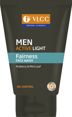 VLCC Men Active Light  Face Wash(100 ml)  available at flipkart for Rs.131