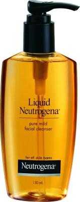 Neutrogena Liquid Pure Mild Facial Cleanser, 150 ml