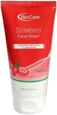 Biocare Strawberry Face Wash(150 ml)  available at flipkart for Rs.158
