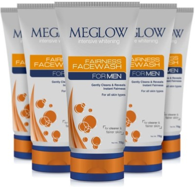 Meglow Intensive Whitening  Face Wash(350 g)  available at flipkart for Rs.340