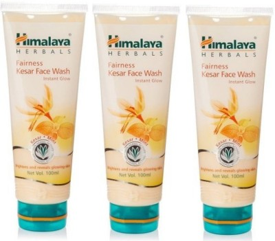 Himalaya Fairness Kesar (Set of 3) Face Wash(100 ml)