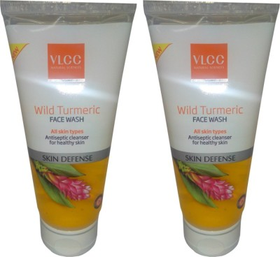 VLCC Wild Turmeric Face Wash Pack Of 2 Face Wash(160 ml)