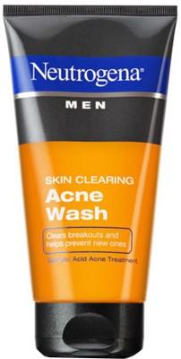 Neutrogena Men Skin Clearing Acne Face Wash 150ml