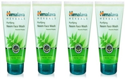 Himalaya Purifying Neem - (Pack of 4) Face Wash(200 ml)