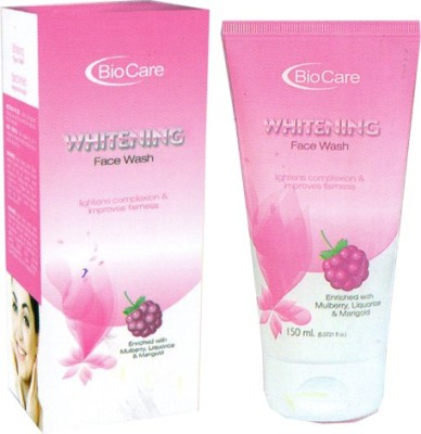 Biocare Whitening Face Wash(150 ml)  available at flipkart for Rs.182