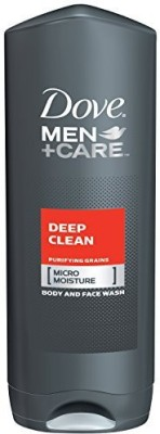 Dove Men + Care Deep Clean Body and Face Wash, 504g