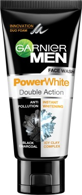 Garnier Men Power White Complete Double Action Face Wash - 100ml