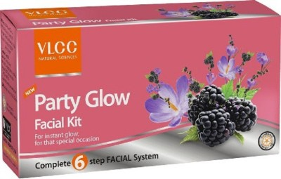 VLCC Party Glow Facial Kit 46.6 g(Set of 4)