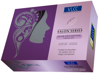 VLCC Silver Detoxifying Facial Kit, 240gm (Set Of 4)
