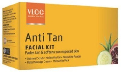 VLCC Anti Tan Facial Kit 80 g(Set of 5)