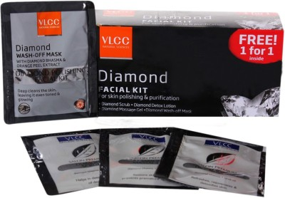 VLCC Daimond Facial kit 60 g(Set of 4)