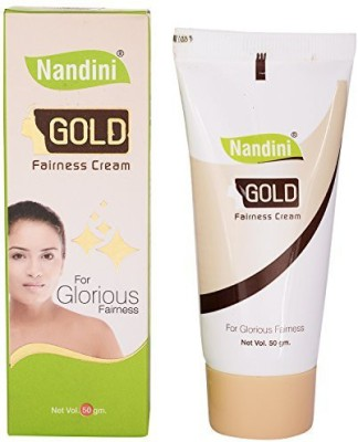 Nandini Gold Fairness Cream(50 g)  available at flipkart for Rs.64