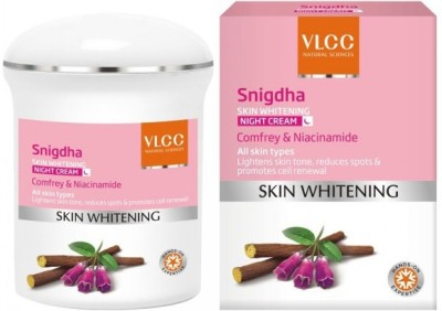 VLCC Snigdha Skin Whitening Night Cream Comfrey & Niacinamide