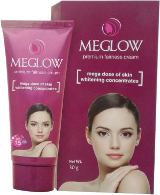 Meglow Premium Fairness Cream For Women(30 g)  available at flipkart for Rs.75