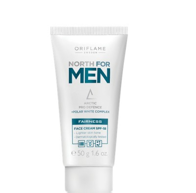 Oriflame Sweden North For Men Fairness Face Cream(50 g)  available at flipkart for Rs.349
