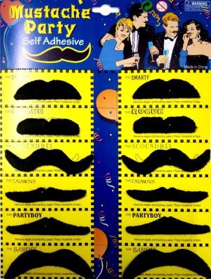 Ace English Fake Moustache(black)