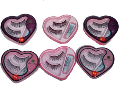 AARIP Eye Lashes with Lashes Glue (Combo)(Pack of 12) at flipkart