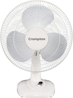 Crompton Greaves High Flo Neo 400 mm 3 Blade Wall Fan(White, Pack of 1)
