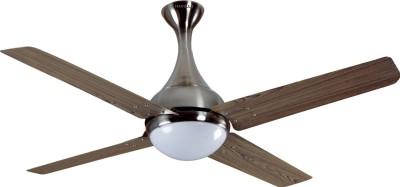 HAVELLS Dew 1320 mm 4 Blade Ceiling Fan(Viking Teak Nickel, Pack of 1)