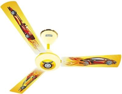 Luminous Play - Car 3 Blade Ceiling Fan(Multicolor)
