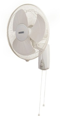 Usha Helix High Speed 3 Blade Wall Fan(White)  available at flipkart for Rs.2399