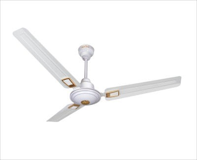 ACTIVA APSRA DECO 5 STAR 1200 mm 3 Blade Ceiling Fan(WHITE, Pack of 1) at flipkart