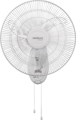 Havells 450mm Air Bol Hs 3 Blade Wall Fan(White) at flipkart