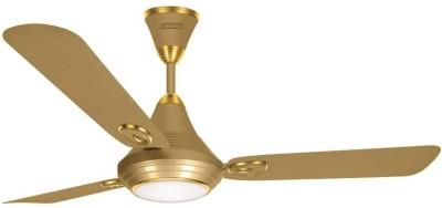 Luminous Lumaire Underlight Silky Gold 3 Blade Ceiling Fan(Gold)