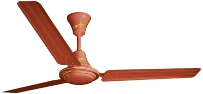 Khaitan ECR 1200mm 3 Blade Ceiling Fan(Brown)