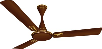 Luminous Audie 3 Blade Ceiling Fan(Brown, Pack of 1) at flipkart