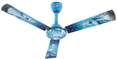 Bajaj Disney DC01 1200 mm 3 Blade Ceiling Fan(Blue, Pack of 1) at flipkart