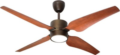 HAVELLS MOMENTA 1320 mm 4 Blade Ceiling Fan(Brown, Pack of 1)