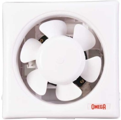 Omega Ventilation Ventec 8 inch 0 mm 3 Blade Exhaust Fan(White) at flipkart