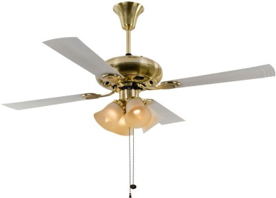 Usha 1280 mm Fontana Orchid Gold CF 4 Blade Ceiling Fan(Gold)  available at flipkart for Rs.6230