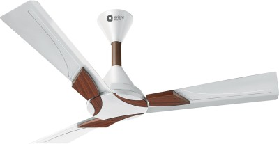 Orient Electric Wendy 1200 mm 3 Blade Ceiling Fan(Pearl white Walnut, Pack of 1)