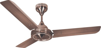 Havells Fabio 3 Blade Ceiling Fan(Brown) at flipkart