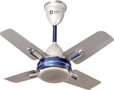 Orient Quasar Ornamental 600 mm 3 Blade Ceiling Fan(White)