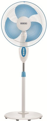 Usha Helix Pro High Speed 3 Blade Pedestal Fan(White, Blue)  available at flipkart for Rs.3075
