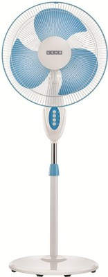 Usha Helix Pro high speed Pedestal Fan 3 Blade Pedestal Fan(White)  available at flipkart for Rs.3087