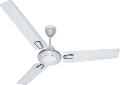 Havells Vogue 1200 mm Ceiling Fan (P.White Silver)