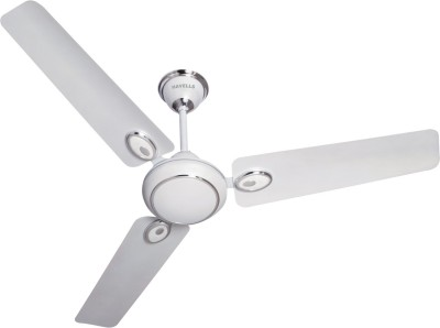 Havells Fusion 1400 mm Ceiling Fan (White, Silver)