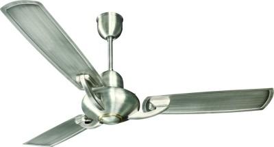 Crompton TRIT1200BST-WOR 1200 mm 3 Blade Ceiling Fan(Brush Steel, Pack of 1)