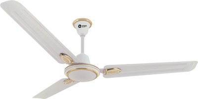 Orient Electric Pacific Air Decor 1200 mm 3 Blade Ceiling Fan(White, Pack of 1)
